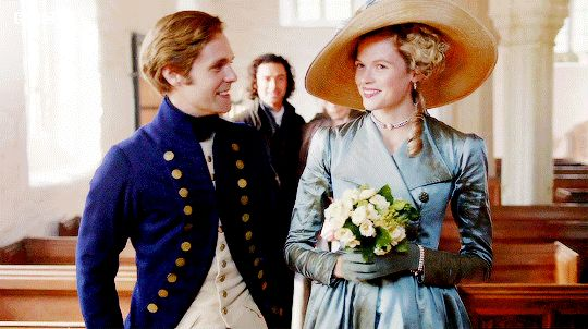 Dwight and Caroline's Wedding  Poldark Season 3 Episode 1