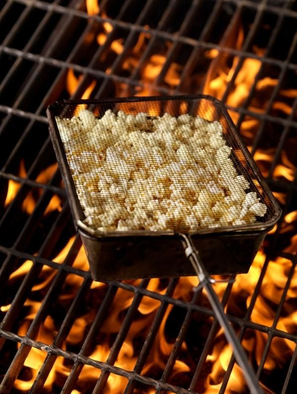 campfire popcorn popper instructions