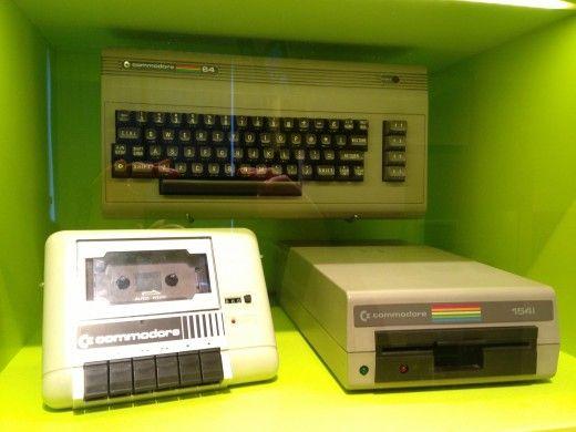 Commodore C64 mit Datasette