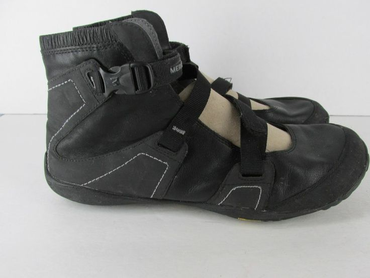 Merrell Power Glove Black BAREFOOT Boots Shoes Womens Size 10 M  41