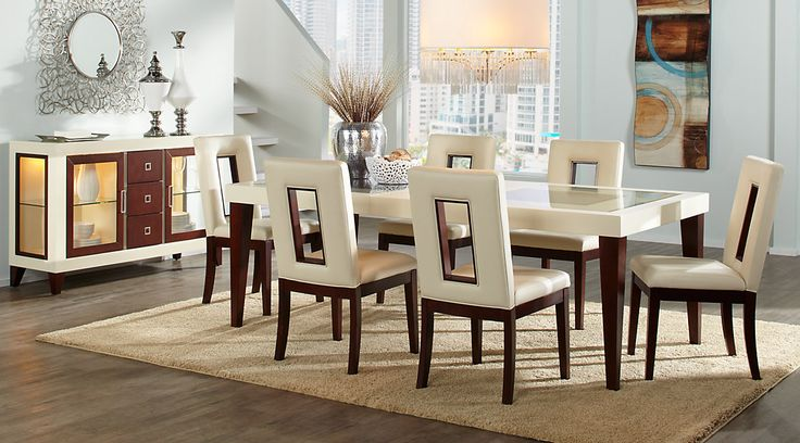 Affordable Contemporary Dining Room Table Sets with Chairs ...