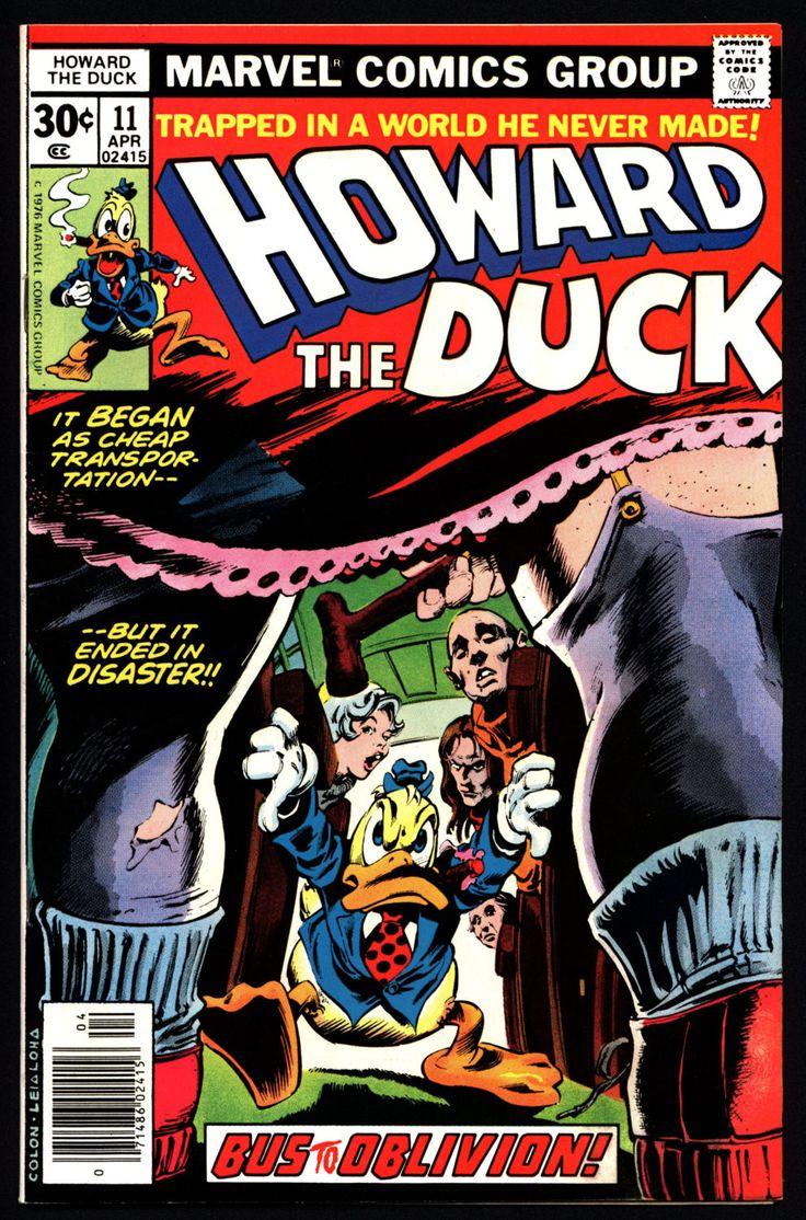 Marvel Comics 1978 HOWARD the DUCK #11 Born Again Steve ...
