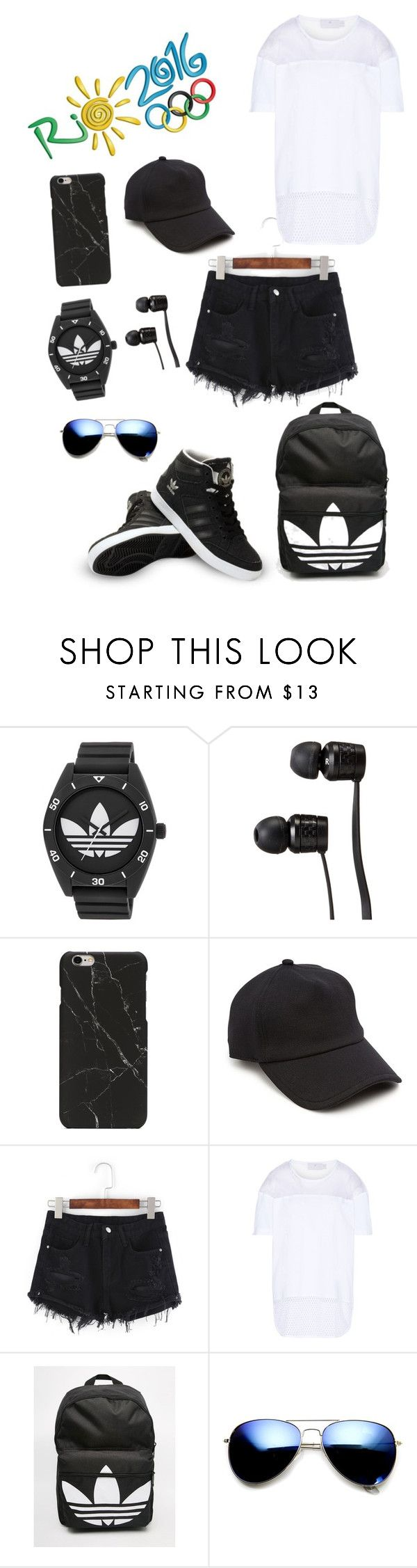 """Ready to go!"" by kathers101 ❤ liked on Polyvore featuring adidas, Vans, rag & bone and ZeroUV"