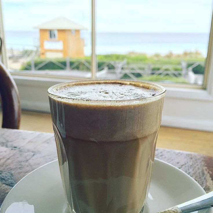 #Repost @mattyd_24  Coffee with a view post #warrnamboolbeach @destinationwarrnambool #coffee3280 #eat3280 #simonswaterfront @simonswaterfront by destinationwarrnambool