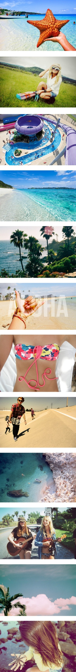"""100 Summer Pictures : Part Two"" by selenuh ❤ liked on Polyvore"