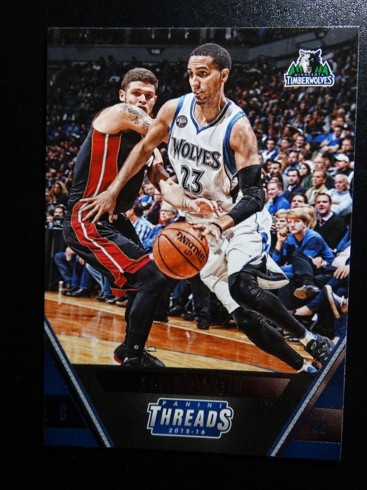 2015-16 Panini Threads #21 Kevin Martin Minnesota Timberwolves Basketball Card #MinnesotaTimberwolves