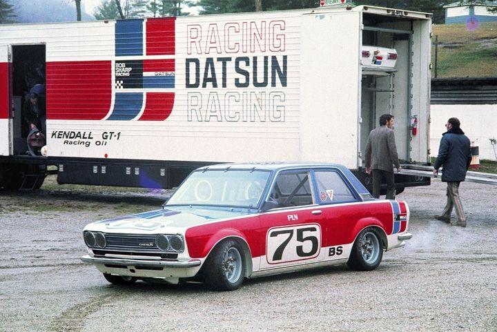 Paul Newman's 1973 Datsun 510. Part of Bob Sharp's racing ...