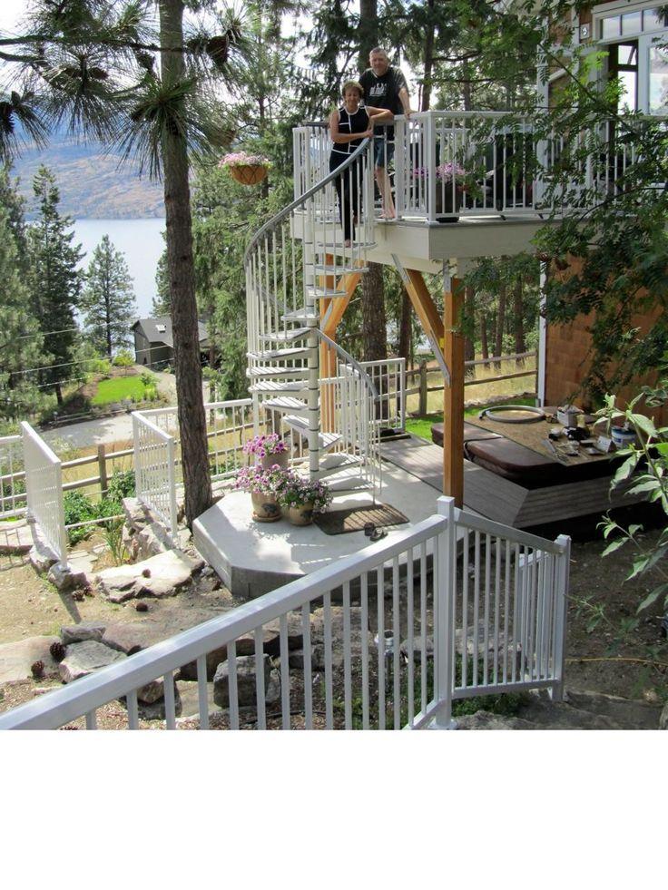 Spiral Staircase                 EUREKA WHITE