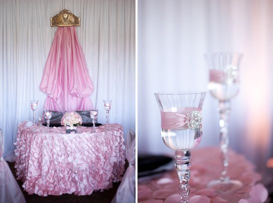 Pink and Black Paris Inspired Baby Shower   The Little Umbrella