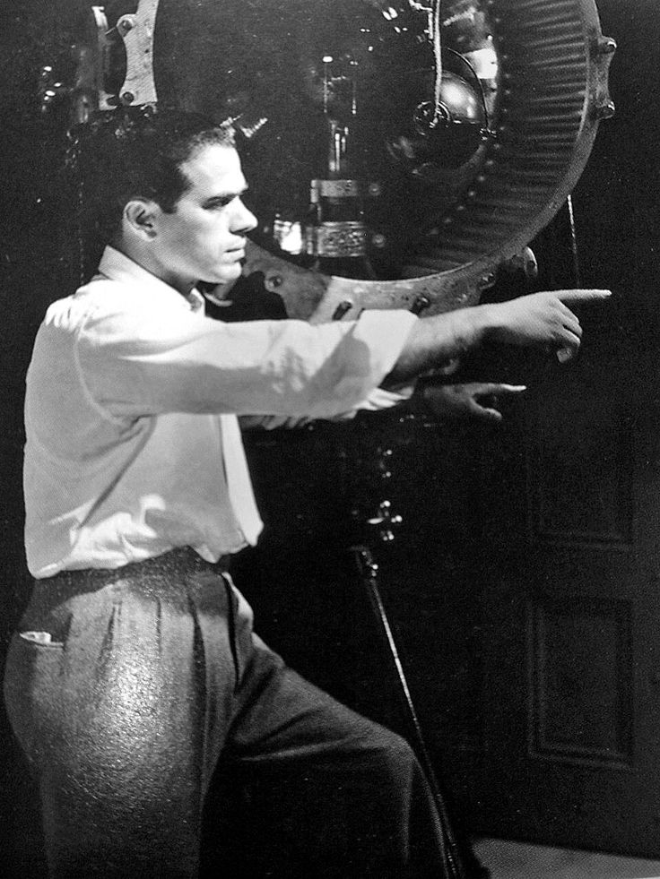 Frank Capra (May 18, 1897 – September 3, 1991), Italian-born American film director.