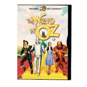 """Who doesn't like the Wizard of Oz? The wicked witch scared the bajeebies out of me when I was little -- my favorite line is the Scarcrow's response to Dorothy's """"...he said 'oil can'"""";  Scarecrow:  """"Oil can what?!"""""""