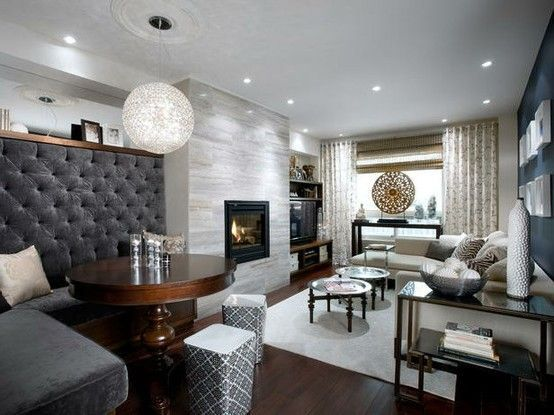 33 best fireplace design images on pinterest corner - Living room makeovers by candice olson ...