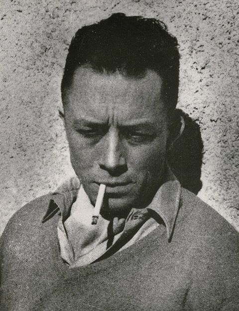 """Albert Camus...    """"If there is a soul, it is a mistake to believe that it is given to us fully created. It is created here, throughout a whole life. And living is nothing else but that long and painful bringing forth."""""""