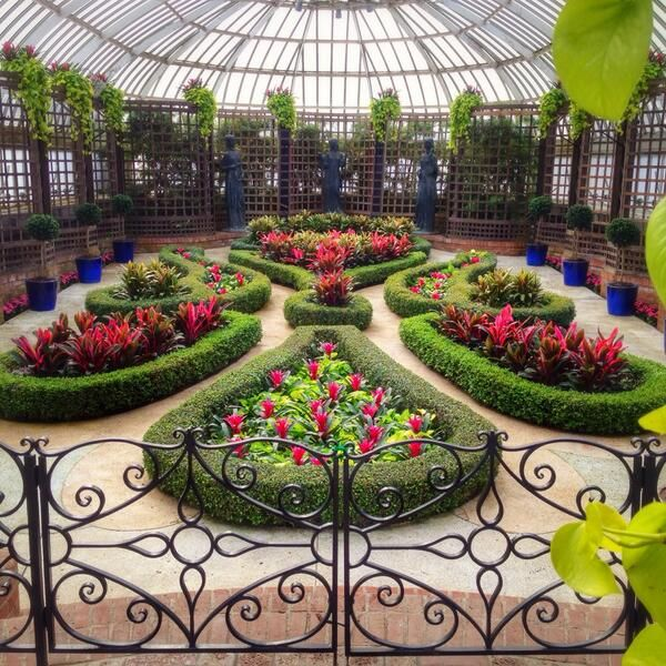 The broderie room at phipps conservatory pittsburgh for Weekend getaways from pittsburgh