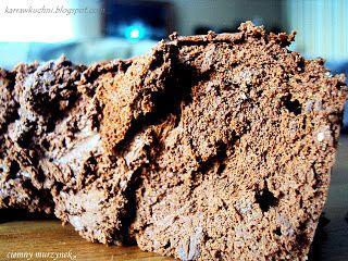 Karra w kuchni: ciemna gorzka czekolada czyli murzynek na diecie