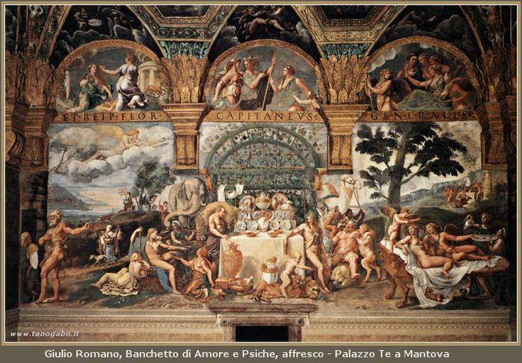 Giulio Romano - Banchetto di Amore e Psiche