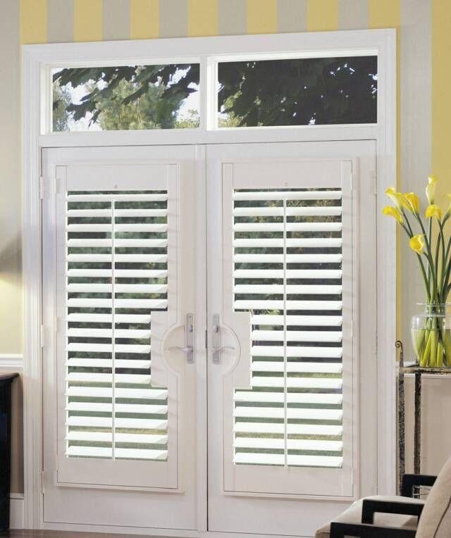 119 best window dressings images on pinterest window for Shutter window treatment ideas
