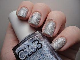 Dutchie Nails: Color Club Blue Beaded