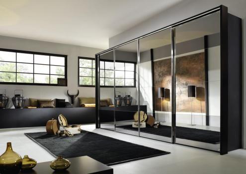 Kast met spiegels te verkrijgen bij Meubelen Larridon. #kleerkast #slaapkamer  #spiegel #slapen #meubelen #interieur #meubelenlarridon