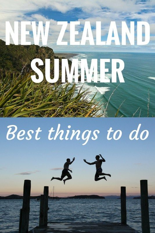 Summer is the best season to get out and about - warm weather and holidays abound! Check out our top 8 things to do in New Zealand this summer - including camping, hiking, and concerts!