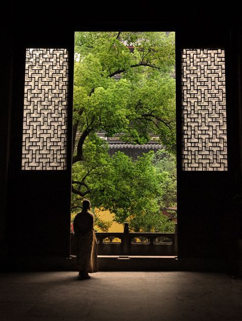 Keep Me Where The Light Is...  by jamesflynn23.devi...                                Buddist Temple.    Shouzhou, China.