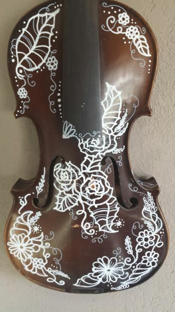 First National Violins Student Violin Hand Painted | Reverb