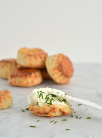Hartige scones met kaas - Uit Paulines keuken