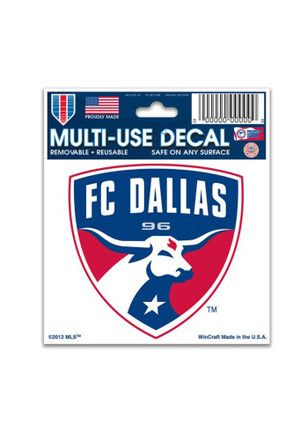 FC Dallas 3x4 Multi-Use Decal