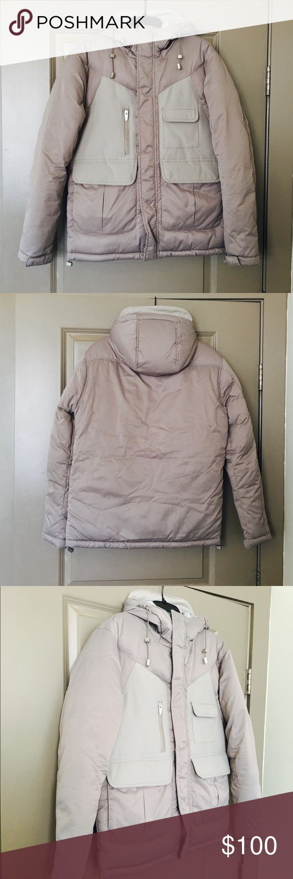 🎉SALE🎉Zara Winter Coat Zara men's size M thick winter coat. NWT. The color is grayish/tan. Zara Jackets & Coats