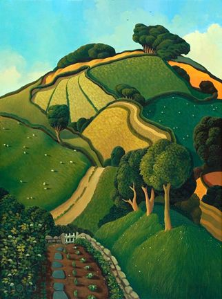 **View from the Garden by Jo March