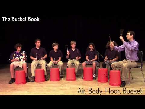 Learn more about how to teach bucket drumming at: http://www.TheBucketBook.com The Bucket Book is a drumming resource for K-12 music teachers.