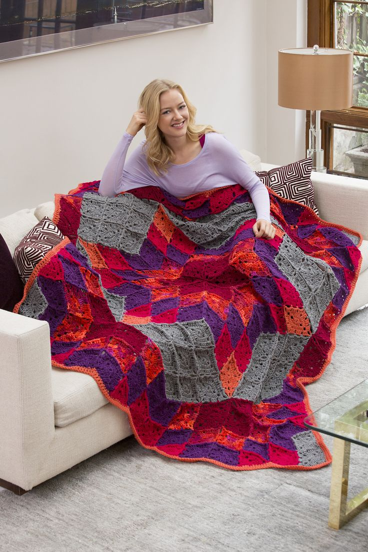 110 best crochet quilt images on pinterest quilt patterns prairie star afghan by marilyn coleman and mary jane protus free crochet pattern bankloansurffo Images