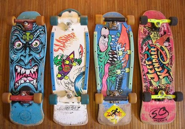 santa cruz collection - plastic rails!