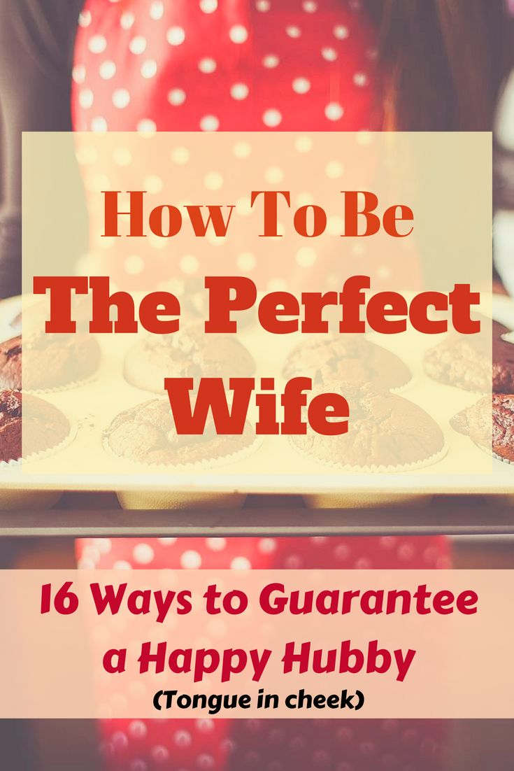 Not for the easily offended!! A tongue in cheek guide on 'How to be a good wife and guarantee a happy husband'. Perfect if you're looking for ideas on maintaining a happy marriage.