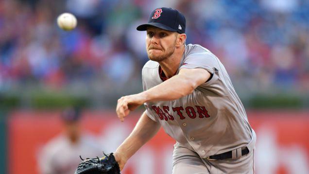 Chris Venta Huelgas 10, Sólo Obtiene Extra-Hit De Base Para Los Medias Rojas De Boston, Todavía Pierde