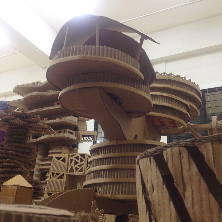 Government (group 13) - Tomorrowland Project #Tekomars #tomorrowland #project #architecture #interiorarchitecture #cardboard