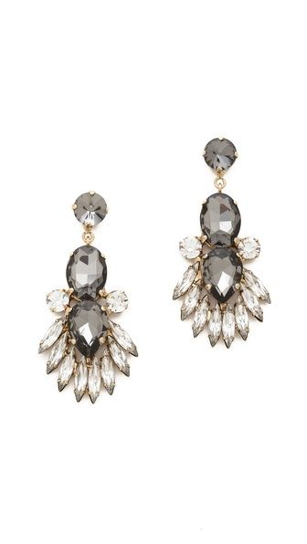 Noir Jewelry Crystal Drop Earrings http://rstyle.me/n/ecwf2r9te