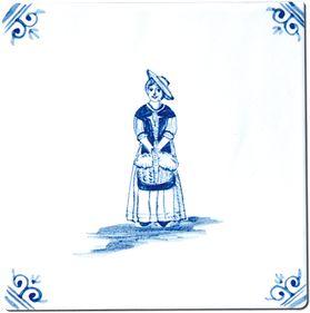 Santon - Tiling - Decoration - Delft Provençal - Design - Design - Earthenware Provence in Salerno