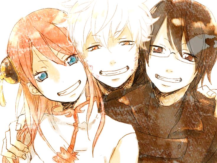 Gintama trio from the movie :D