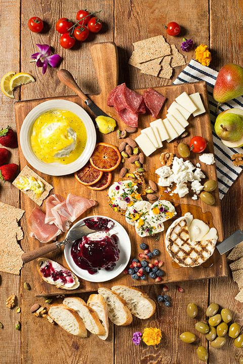 INGREDIENTS BY SAPUTO | Charcuterie and cheese always make a great combo! With this easy summer charcuterie board recipe idea, you and your guests can enjoy a wide variety of goat cheeses from Woolwich.