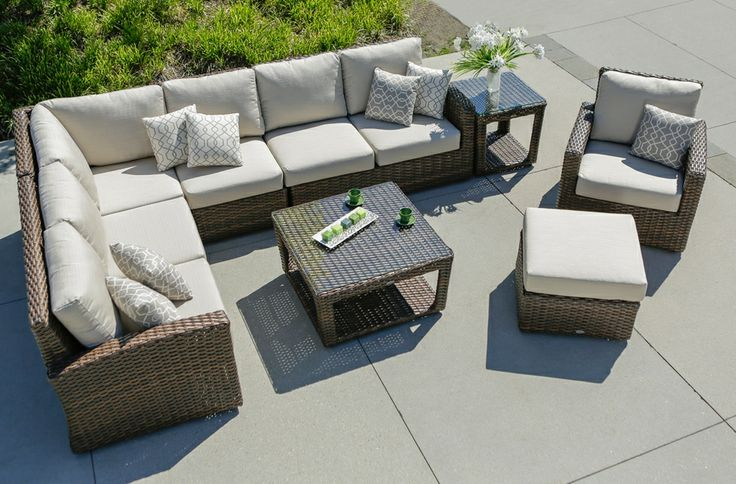 Portfino ratana home and floral outdoor wicker Ratana outdoor furniture