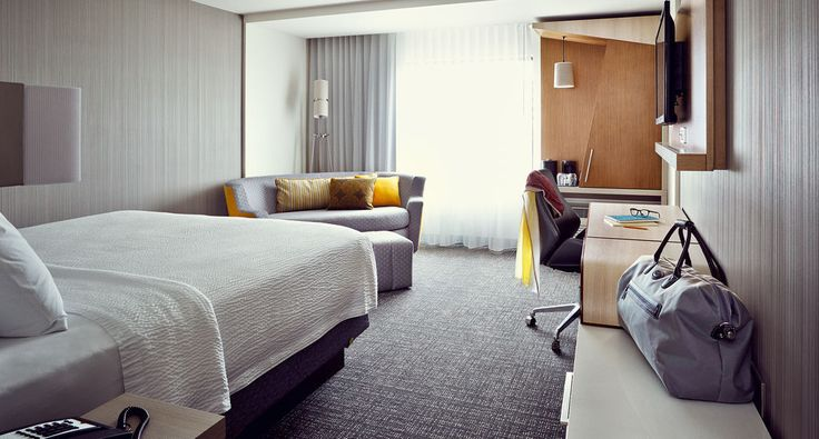 Courtyard business hotels photography