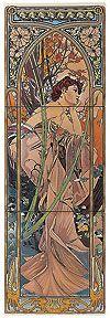 Керамическая плитка ORIGINAL STYLE — Коллекция ARTWORKS — Art Nouveau / Арт Нуво — Салон «Биг Бен»