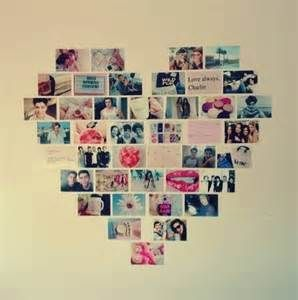 Pictures made into a heart cute