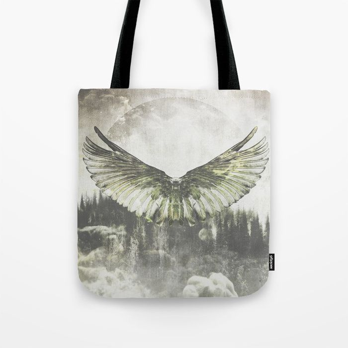 Wilderness in my heart Tote Bag by HappyMelvin | Society6