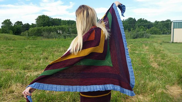 Ravelry: Autumn's Favorite Shawl pattern by Jessica Anderson