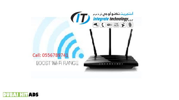 Mudon/Arabian ranches wifi internet router modem setup in Dubai