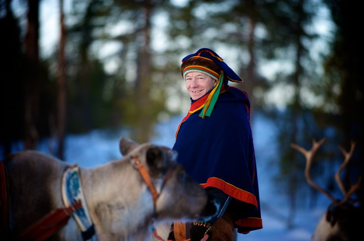 Photographer Pernille Westh | Sami and some of his reindeer photographed in Lapland, Finland. A moment from my ongoing project about the North · Get my 7 FREE basic photography tips - you need to know! http://pw5383.wixsite.com/free-photo-tips