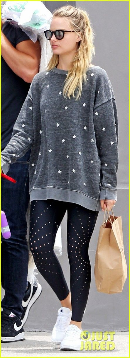 Margot Robbie & Husband Tom Ackerley Take Their Dog for a Walk in Hollywood