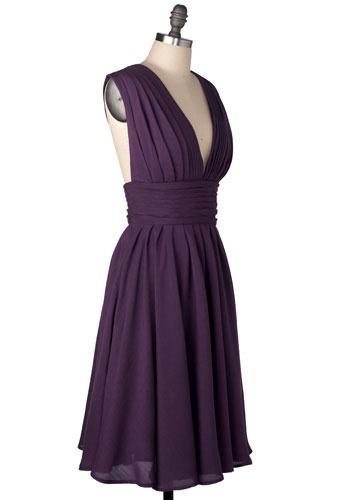 ModCloth: Color, Wedding, Modcloth Bridesmaid Dresses, Purple Dress, Perfect Bridesmaid